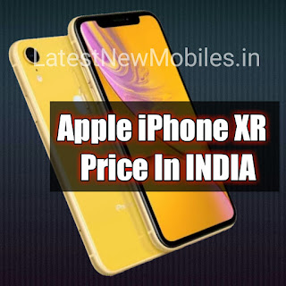 Apple iPhone XR Price in INDIA