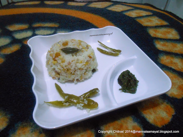 Kuthiraivaali Sundal [ Barnyard millet Sundal ]