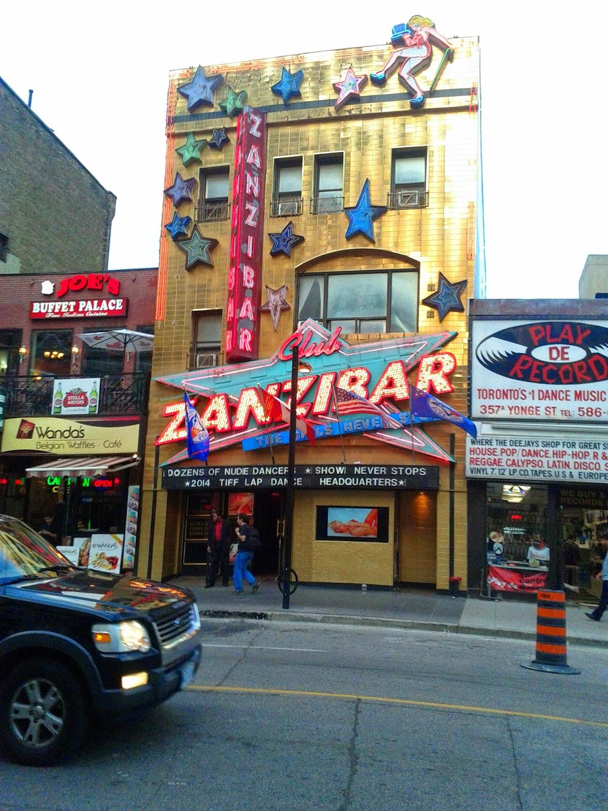 clib Toronto strip