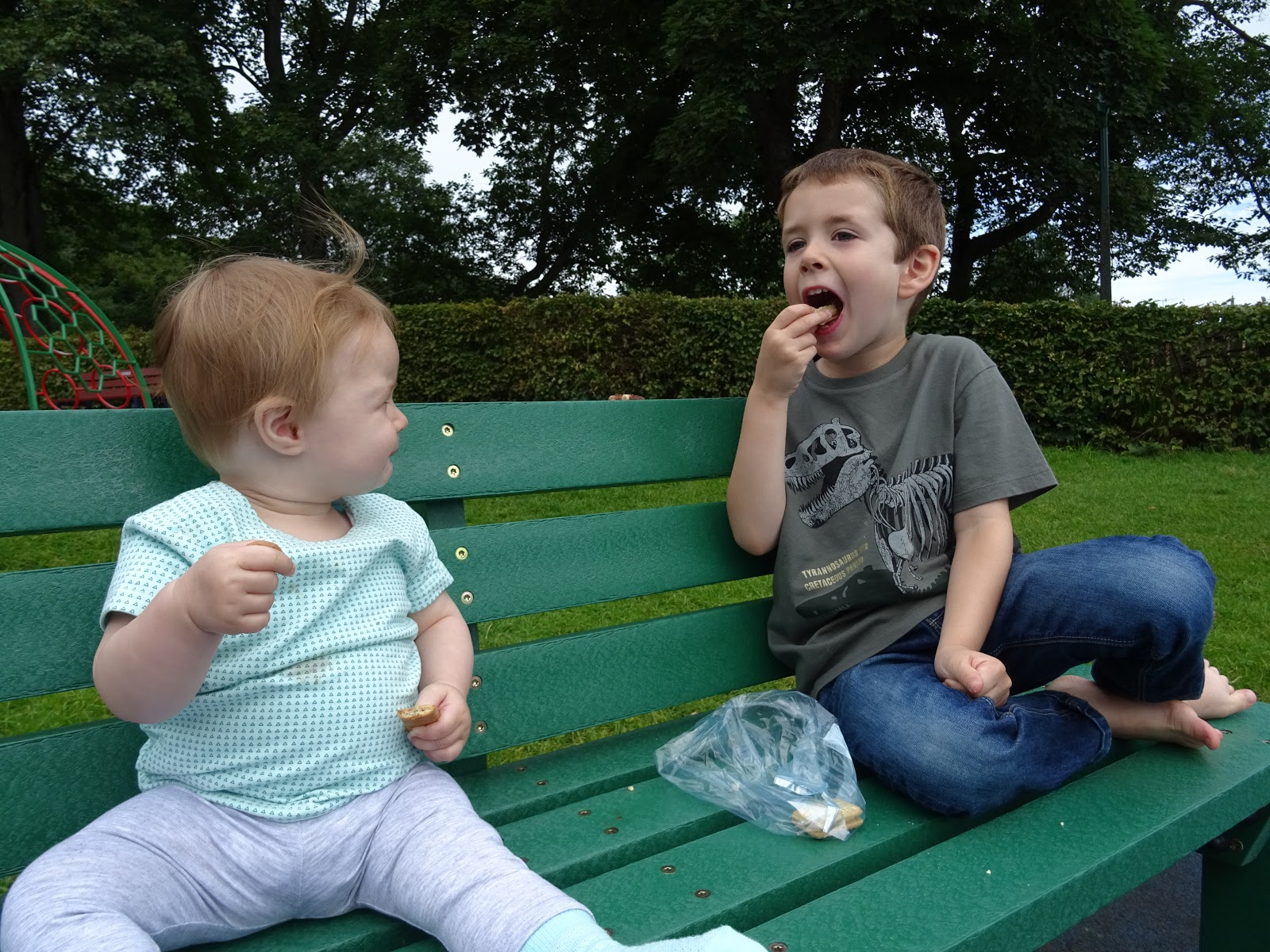 The Best Picnic Spots in Northumberland for Families with Young Children - Carlisle Park Morpeth