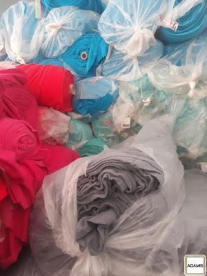 Lô 12 tấn vải cây nỉ 1 da. Ưu tiên xưởng may áo khoác sll