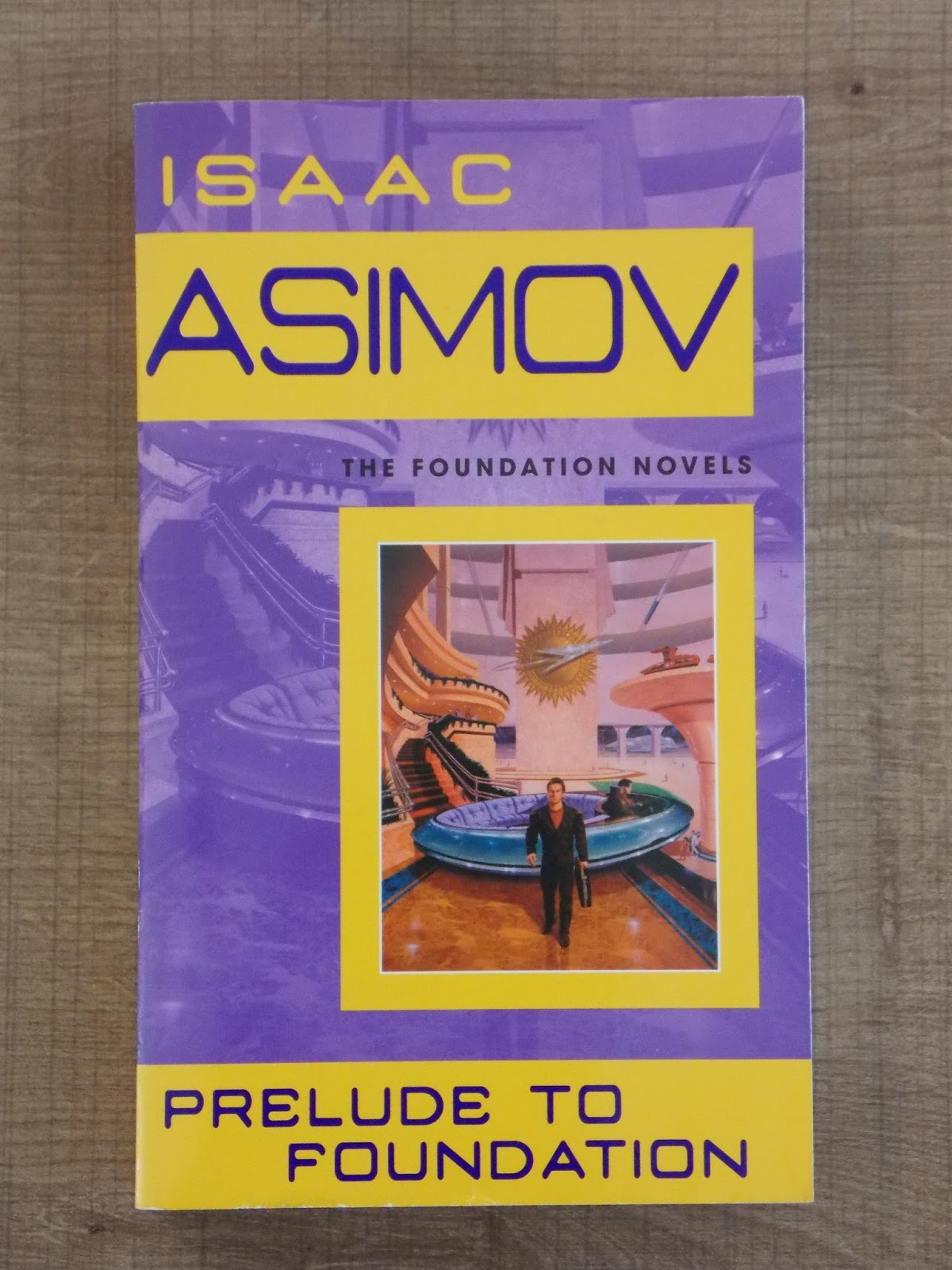 an analysis of prelude to foundation by isaac asimov Isaac asimov's foundation: a holistic analysis of micro and macro plots in the asimov universe - the prequels ― isaac asimov, prelude to foundation.