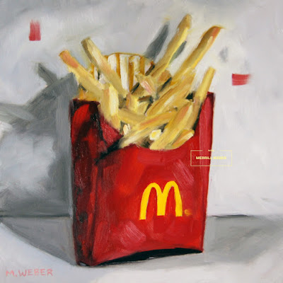 french-fries-oil-painting-by-merrill-weber