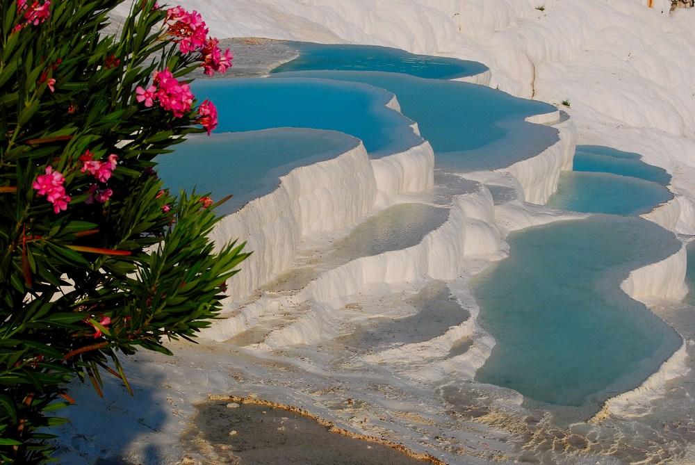 les somptueux bassins de Pamukkale