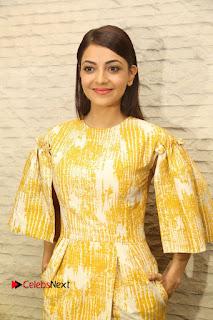 Actress Kajal Agaral Stills at hmotsavam Movie Promotion Press Meet  0031.JPG