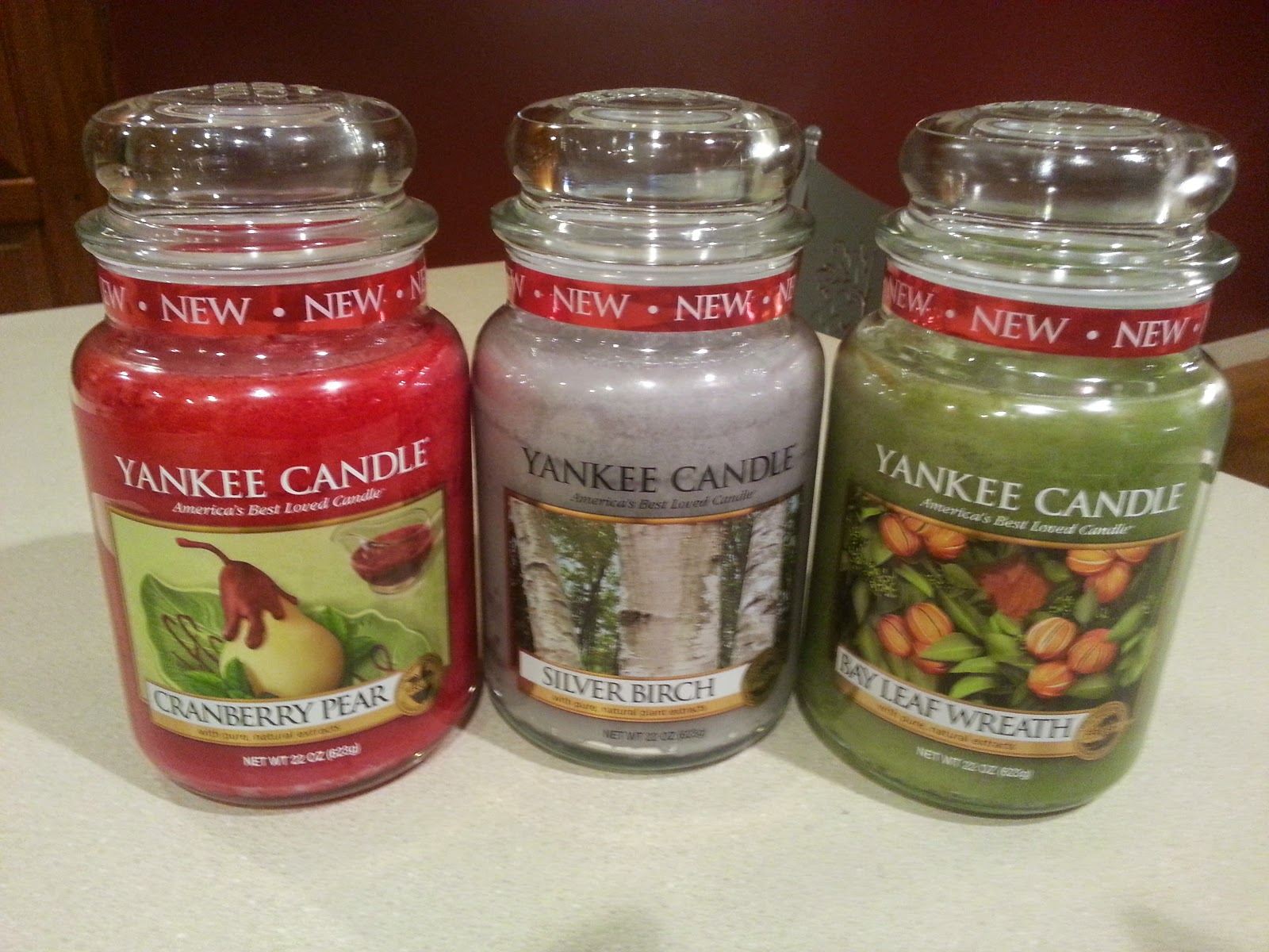 Yankee Candle, Fall Scent Review