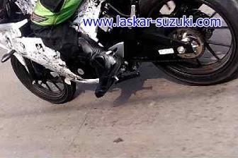 Suzuki GSX-R150 Sedang di test di jalanan?