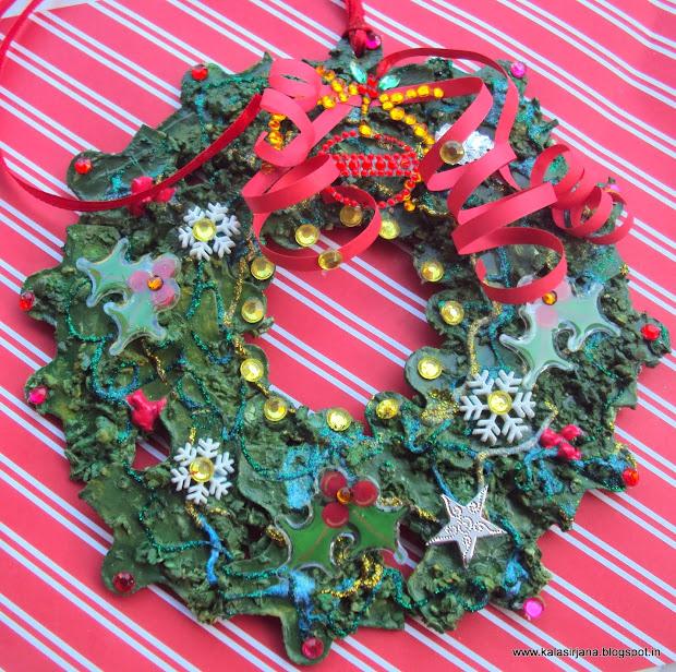 Jigsaw Puzzle Wreaths