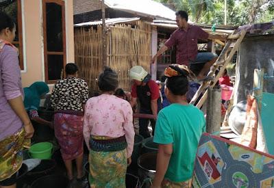 Kemarau, DPK Lobar Suplai Air Bersih