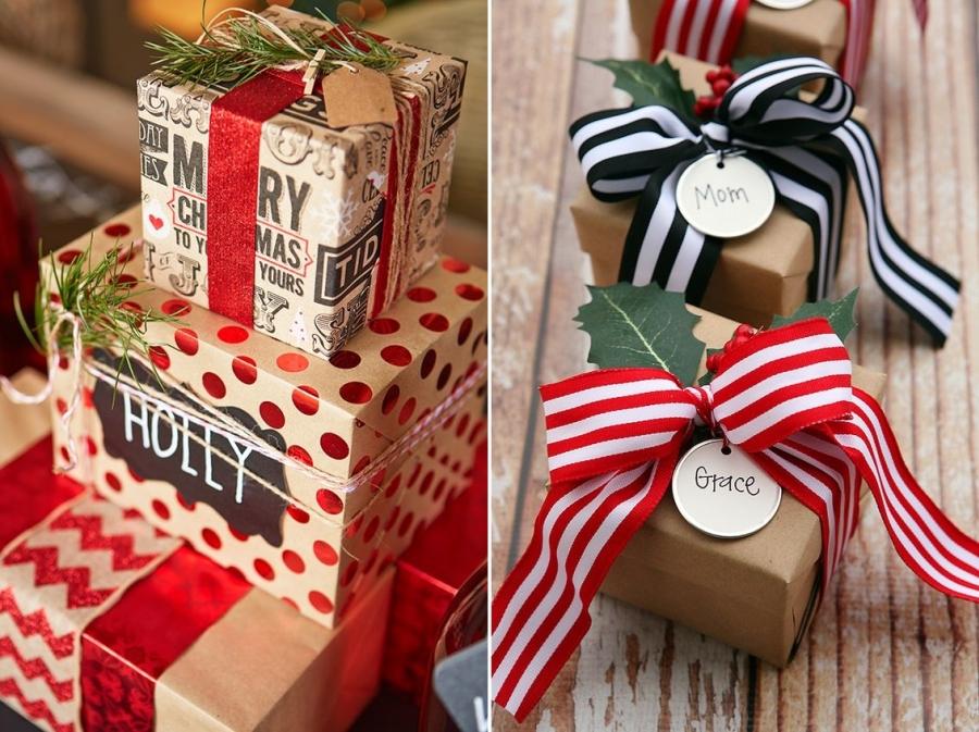 Święta, Boże Narodzenie, Christmas, prezent, gift, opakowanie, pomysły, ideas