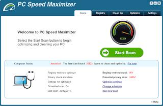 طريقة تثبيت وتفعيل برنامجPC Speed Maximizer لتسريع الحاسوب الى أقصى درجة