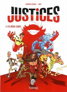 Justices tome 1 - Les deux ligues