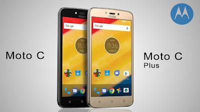 Smartphone Motorola C Plus