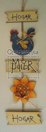 Creaciones Myr Figuras Y Botones En Madera