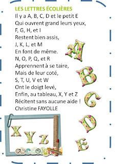 Image261 - DES POESIES POUR LA RENTREE ! Thèmes : l'école – les lettres – écrire