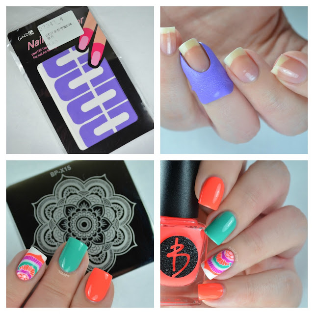 nail art collage