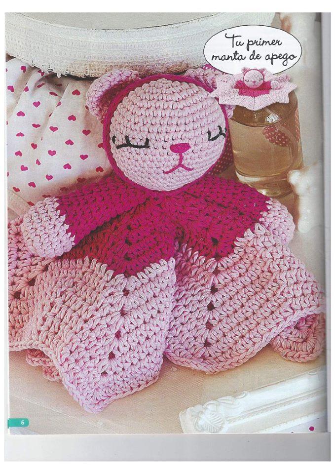 Patrones Gratis De Crochet  Patr U00f3n Gratis Manta De Apego