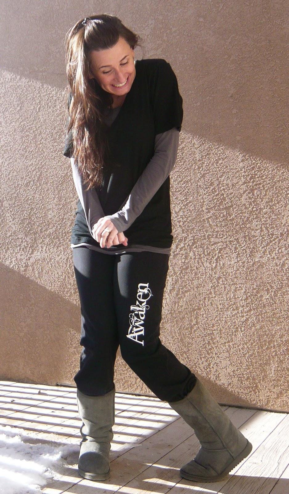Ugg Boots Yoga Pants