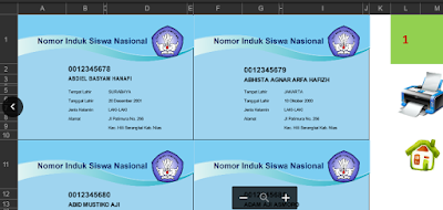 Panduan Aplikasi Cetak Kartu NUPTK Dan NISN Format Baru 2018
