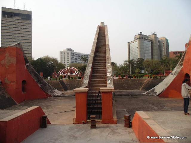 Astronomical Observatory of Jantar Mantar Delhi
