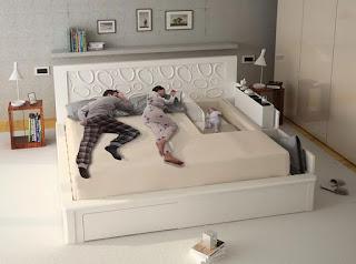 cama gigante para padres con bebes