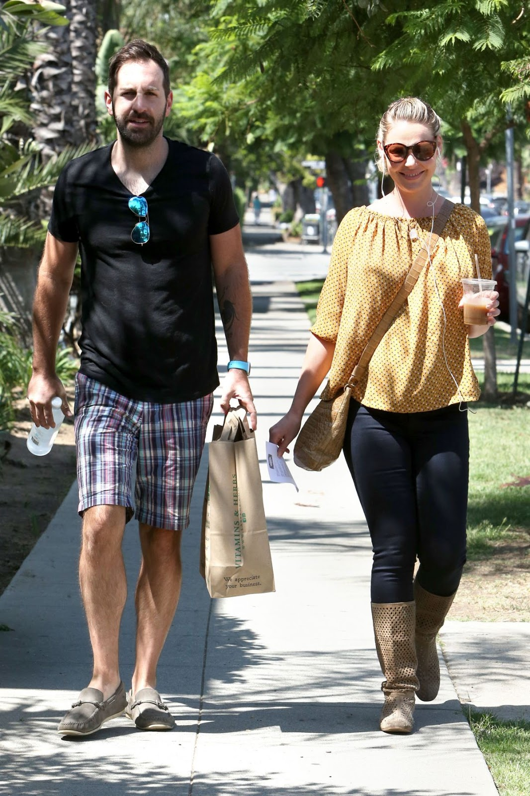 Photos of 'State of Affairs' actress Katherine Heigl Out And About In Los Angeles