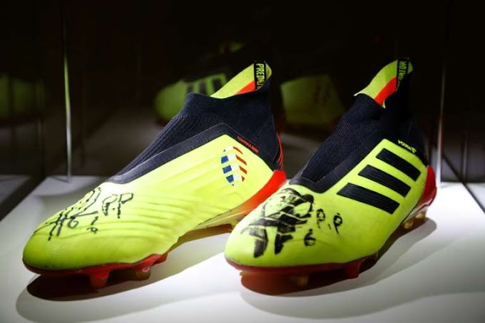Pogba's World Cup-winning boots sell for 30,000 euros