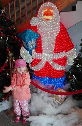 lapsi ja Joulupukki