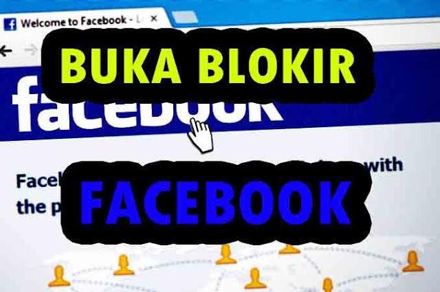 3 Cara Membuka Akun yang diblokir Oleh Pihak Facebook Karena Pelanggaran