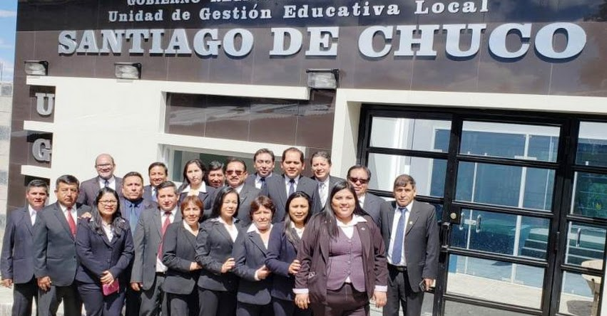 UGEL Santiago de Chuco celebró sus XXX aniversario - www.ugelsantiagodechuco.gob.pe