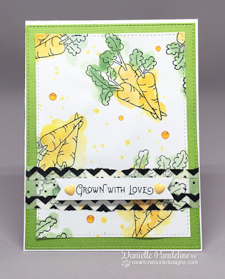 Vegetable Garden | Newtons Nook Designs | Card Created by Danielle Pandeline