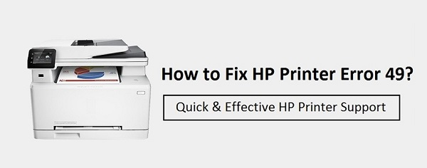 HOW TO FIX HP PRINTER ERROR CODE 49?