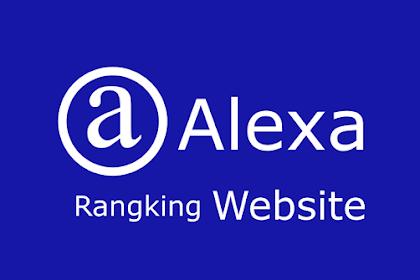 Cara melihat Peringkat Website di Alexa Rank