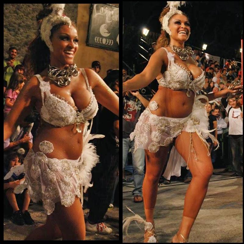 Carnaval. Desfile de Llamadas, Triniboa, Tina Ferreira. 2010.