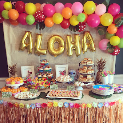 How to plan the perfect party to keep from losing your mind. Step-by-step guide to party planning. Party planning North Alabama. Lilo and Stitch birthday party luau