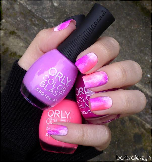 różowe lakiery Orly