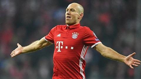 Robben sẽ rời khỏi Bayern