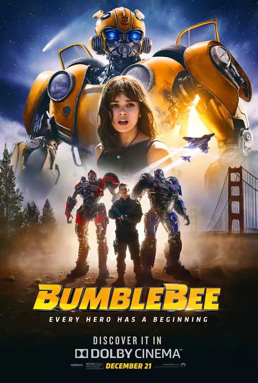 Bumblebee 2018 Full Movie Hindi-English 720p 480p Mkv HD Bluray Download