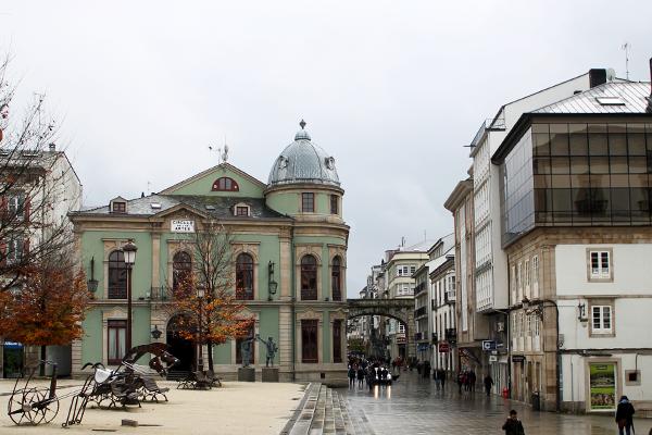 plaza mayor lugo