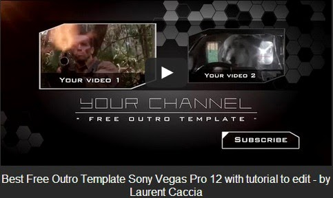 Sony Vegas Outro Template Gallery - Template Design Ideas - free outro template