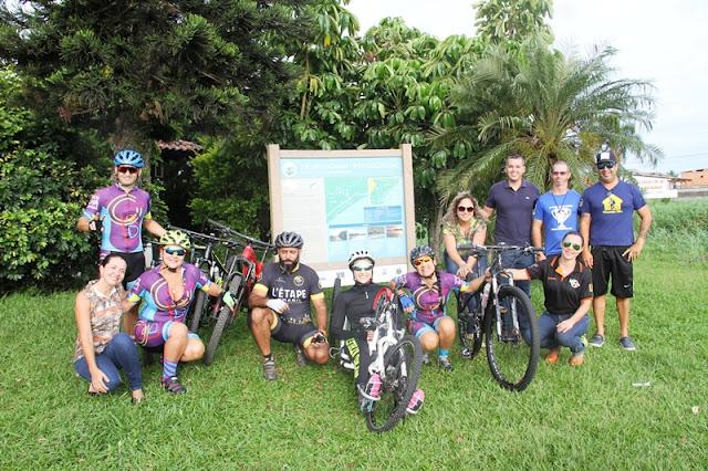 Paratleta Jéssica Moreira percorreu 200 km do Circuito Lagamar de Cicloturismo e se tornou a primeira cadeirante brasileira a se tornar cicloturista em uma hand bike