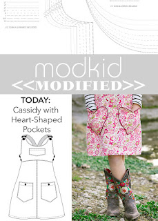 Modkid Cassidy with Piped Heart Pockets