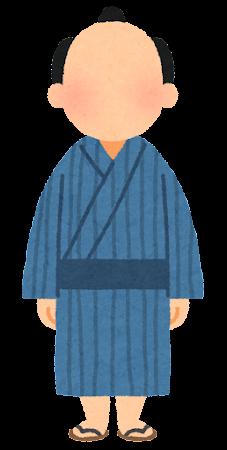 のっぺらぼうのイラスト(男性)