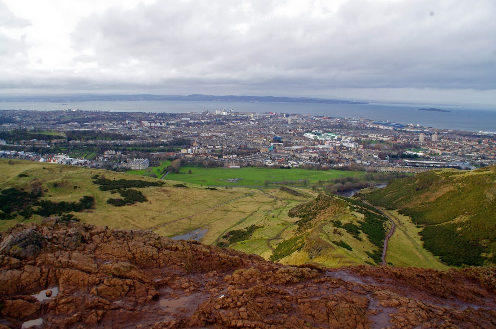 Arthurs Seat Edinburgh Scotland
