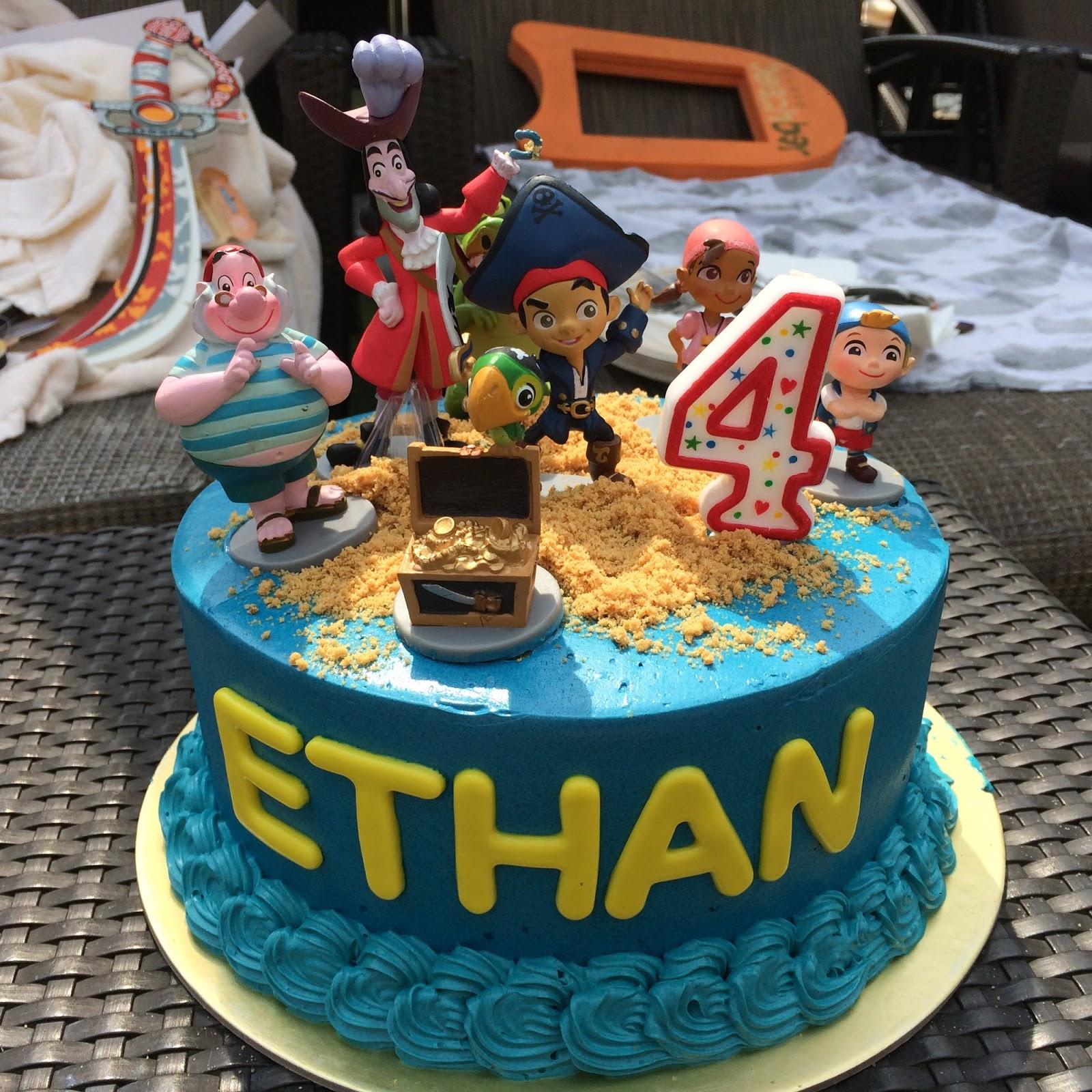 Jake the Neverland Pirates Cake Crissas Cake Corner