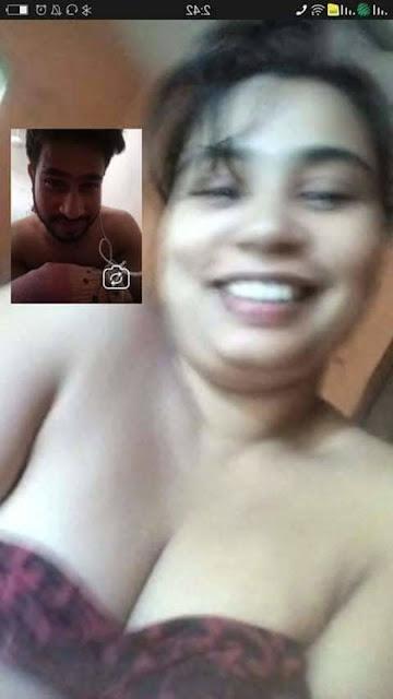 desi couple sex video call screen capture