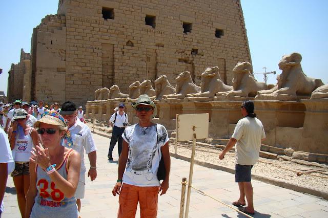 świątynia Amona, sfinks