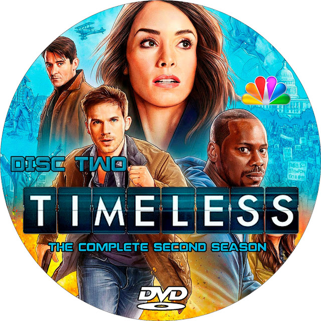 Timeless Season 2 Disc 2 Label Cover