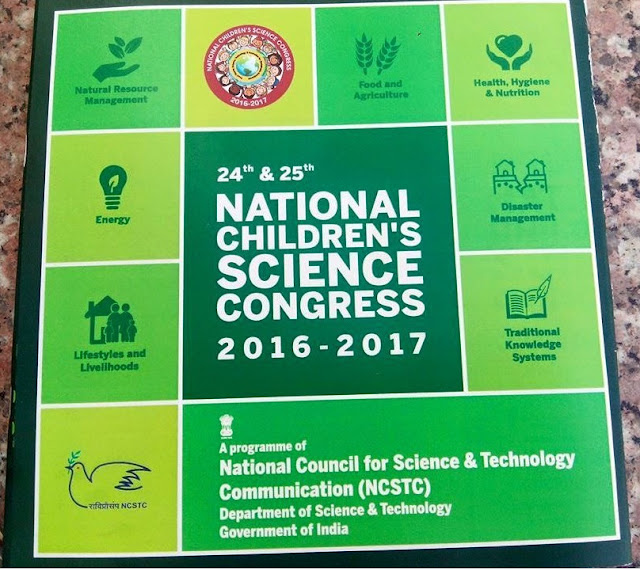 NCSC,National Children's Science Congress,Themes