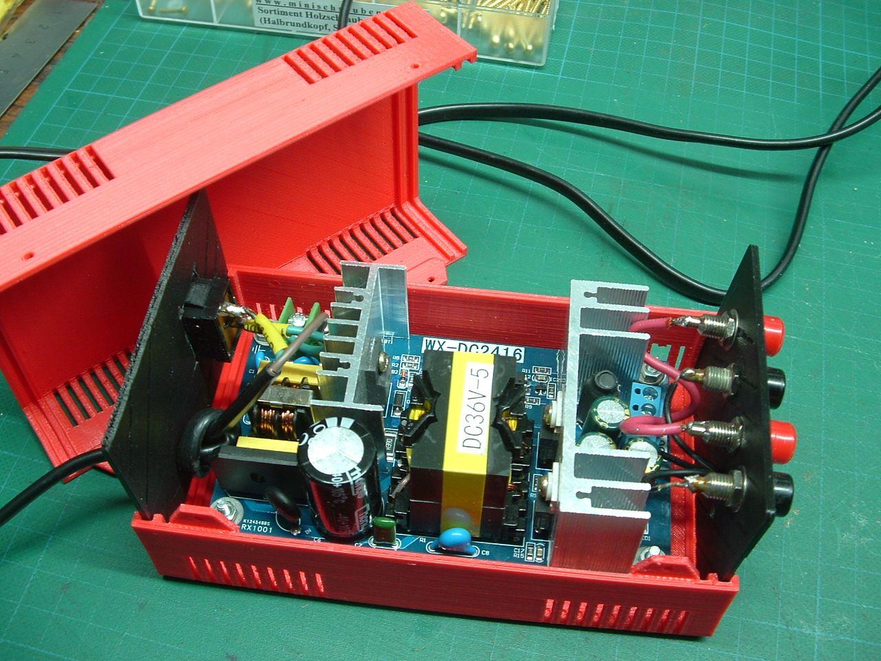 Mein Elektronik Hobby  Kompaktnetzteil 36v 180 W